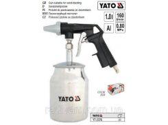 Пистолет пістолет піскоструйний бачек YATO-2376