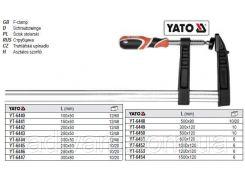 Струбцина L= 200 мм h= 80 мм YATO-6445
