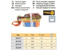 Ремень ремінь кріплення багажу тріщатка 1000daN 35мм х 2м VOREL-82377