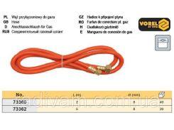 Шланг газовый паяльник/баллон l= 2 м VOREL-73360