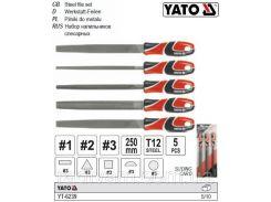 Набор напильников по металлу 5 штук YATO-6239