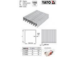 Скобы скоби YATO l=16мм упаковка 1000 шт YATO-0931
