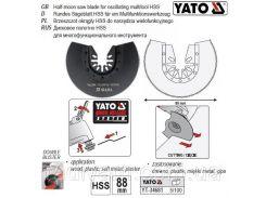 Пила насадка HSS сегментна для реноватора Ø= 88 мм YATO-34681