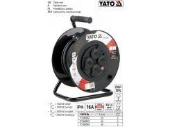 Удлинитель катушка кабель 3 жилы Ø=1,5 мм² 16А l=20 м YT-81052