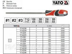 Напильник по металлу квадратный l=200 мм #1 YT-62239