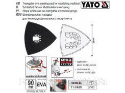 Платформа (стопа) шліфувальна для реноватора 90х90х90 мм YATO-34689
