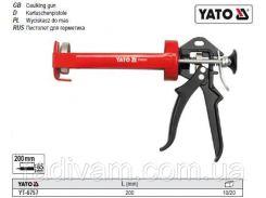 Пистолет пістолет скелетний для нанесення герметиків l= 200 мм YATO-6757