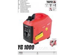 Генератор инверторный бензин W= 900 Вт V= 230 В I= 3,9 А расход 0,74 л/час YATO-85421