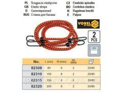 Стяжка багажу 80см х 8мм 2шт VOREL-82308