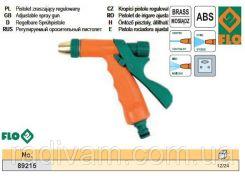 """Пистолет пістолет - зрошувач 3 режими метал 1/2"""" FLO-89215"""