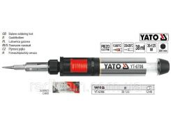 Паяльник газовий міні 30-125 Вт з заряджаючою ємністю 38 мл YATO-6706