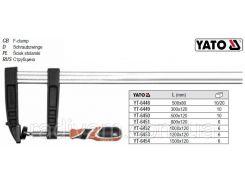 Струбцина l=500 мм h=80 мм YT-6448