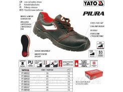 Туфли рабочие PIURA кожа полиуретан размер 44 YT-80557