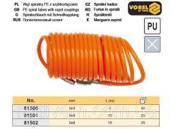 Шланг пневматический компрессора полиуретан Ø= 5х8 мм l= 10 м VOREL-81501