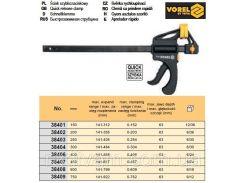 Струбцина автомат пластмас l= 150 мм VOREL-38401