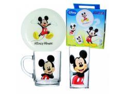 Детский набор Luminarc Disney Mickey Colors 5320h (3 пр) Lum.Disney Mickey Colors Детский набор 3пр