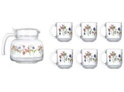 Сервиз чайный LUMINARC ROZANA TREFLE  6225N (7 пр)