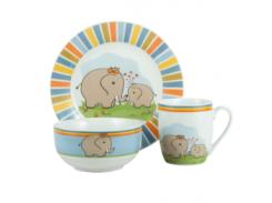Детский набор LIMITED EDITION ELEPHANTS HYT17174 (3 пр)