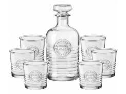 Набор для виски Bormioli Rocco Officina 1825 540625S01021990 (7 пр)