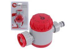 """Таймер для подачи воды с сеточным фильтром, внутренней резьбой на входе 3/4"""", 15;30;45;60;75;90;105;120мин, на конектор 1/2"""", автоматическое отключен INTERTOOL GE-2011"""