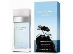 туалетная вода для женщин Dolce & Gabbana Light Blue Dreaming in Portofino EDT   100 мл (Турция)