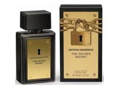 туалетная вода для мужчин Antonio Banderas The Golden Secret EDT   100 мл (Турция)