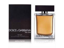 туалетная вода для мужчин Dolce & Gabbana The One EDT   100 мл (Турция)