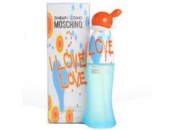 Туалетная вода для женщин Moschino I Love Love EDT  не оригинал 100 мл (Турция)