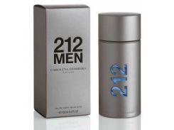 Туалетная вода для мужчин Carolina Herrera 212 Men (магнит) EDT (Каролина Эррера 212 Мэн)  не оригинал 100 мл (Турция)