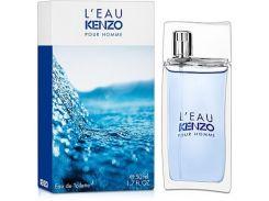 Туалетная вода для мужчин Kenzo L'Eau Kenzo Pour Homme edt  оригинал 50 мл
