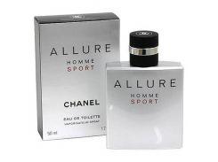 Туалетная вода для мужчин Chanel Allure Homme Sport EDT  оригинал 100 мл