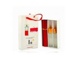 Парфюмированная вода  Мини парфюм Armand Basi In Red EDP 3x15 ml. LUX