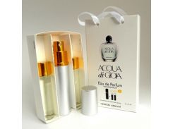 Парфюмированная вода  Мини парфюм Giorgio Armani Acqua di Gioia EDP 3x15 ml. LUX