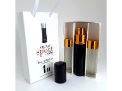 Парфюмированная вода  Мини парфюм Giorgio ARMANI CODE SPORT EDP 3x15 ml. LUX