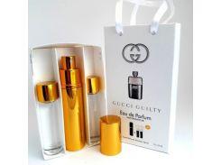 Парфюмированная вода  Мини парфюм Gucci Guilty pour homme EDP 3x15 ml. LUX