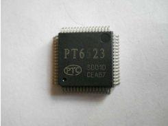 Микросхема PT6523 LQFP64