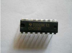 Микросхема CD4511 DIP16