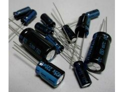 Конденсатор 100uF 35V LS 6*12