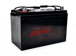 Гелевый аккумулятор для лодочного мотора Fisher 80Ah 12V, вес-24кг