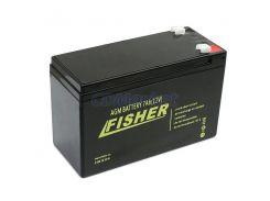 Гелевый аккумулятор для лодочного мотора Fisher 100Ah 12V, вес-30кг