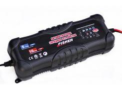 Автоматическая зарядка FISHER 2/5/10А 12/24V аналог СТЕК (T4-0227)
