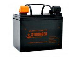 Гелевый аккумулятор STRONGER 33AH (33AH gel)