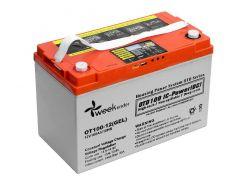 Гелевый аккумулятор для лодочного мотора Weekender 100Ah 12V с дисплеем, котролером и функией LVD (12V100AH)