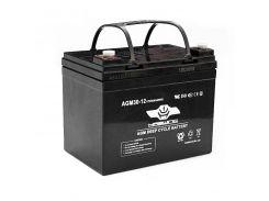 Аккумулятор AGM Haswing (30Ah agm H)