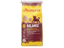 Сухой корм для пожилых и малоактивных собак Josera Balanсe  15 кг