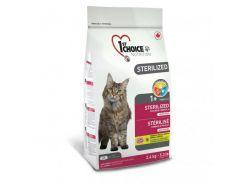 Сухой корм для кастрированных котов и стерилизованных кошек 1st Choice Sterilized 5 кг
