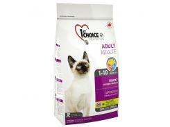 Сухой корм для взрослых привередливых котов 1st Choice Adult Finicky со вкусом курицы 2.72 кг