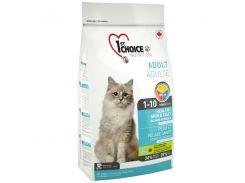 Сухой корм для взрослых котов 1st Choice Adult со вкусом лосося  2.72 кг