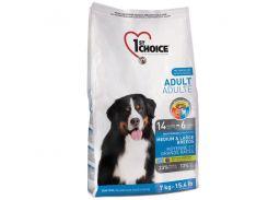 Сухой корм для взрослых собак средних и крупных пород 1st Choice со вкусом курицы 15 кг