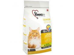 Сухой корм для пожилых котов 1st Choice Senior со вкусом курицы 2.72 кг